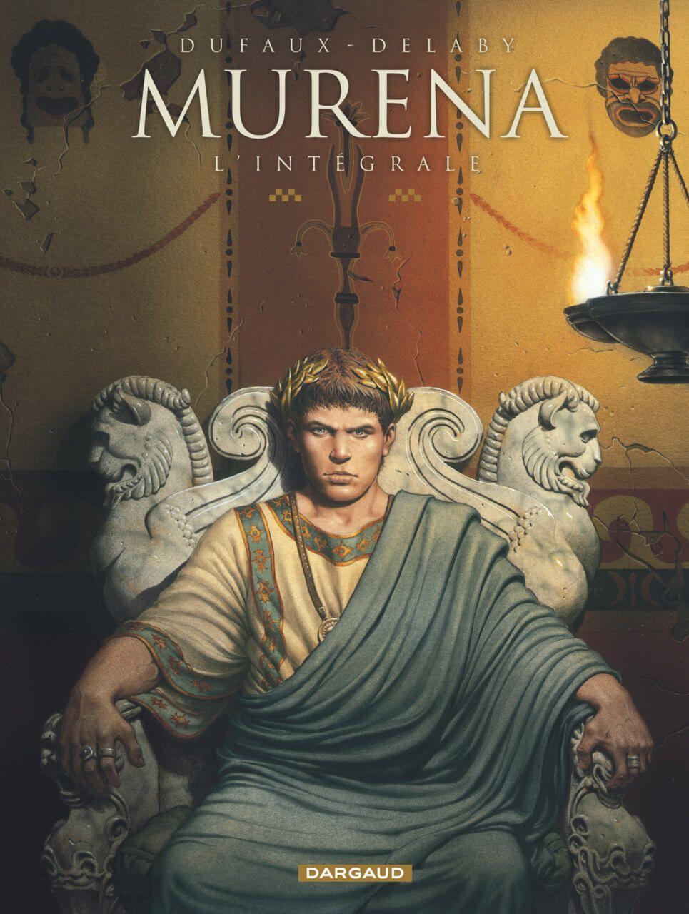 Murena cómic histórico Nerón