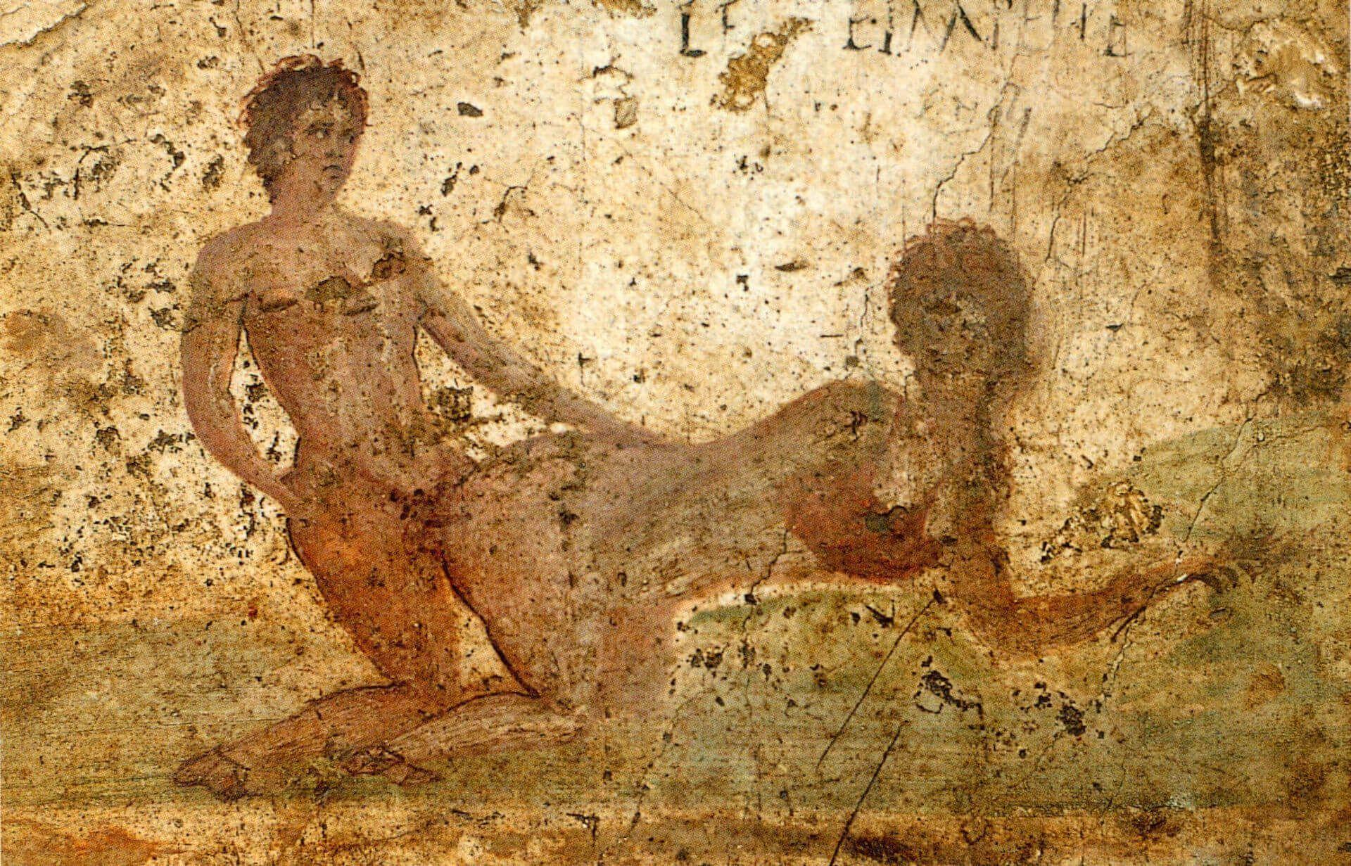 fresco erótico pmpeya casa del re di prusia