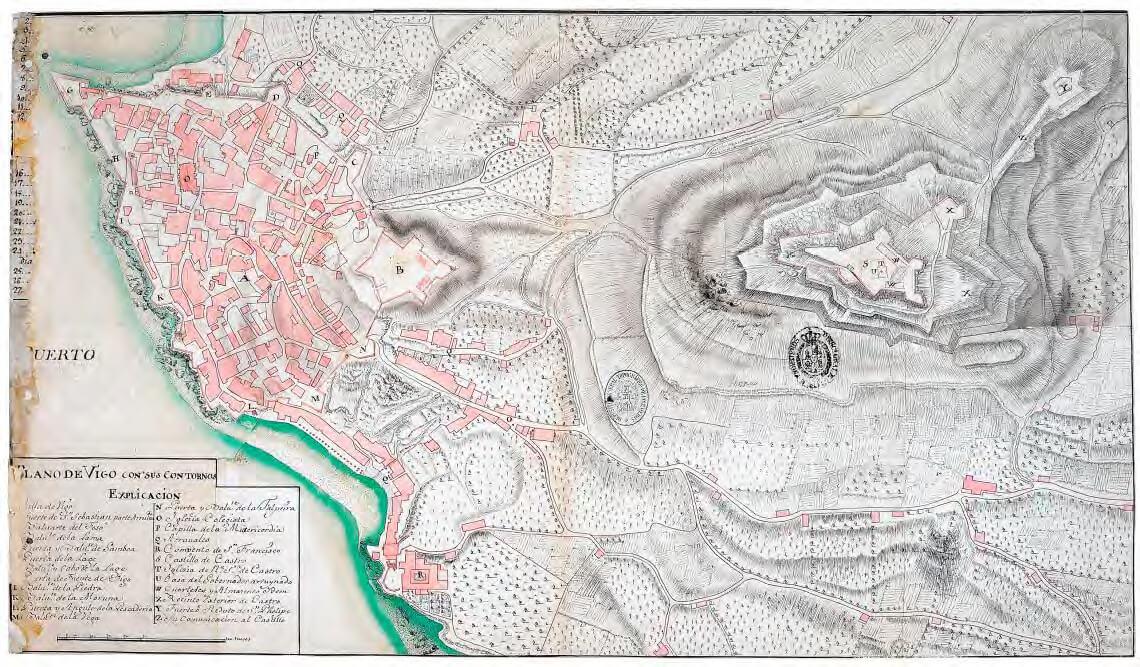 Plano de Vigo 1719