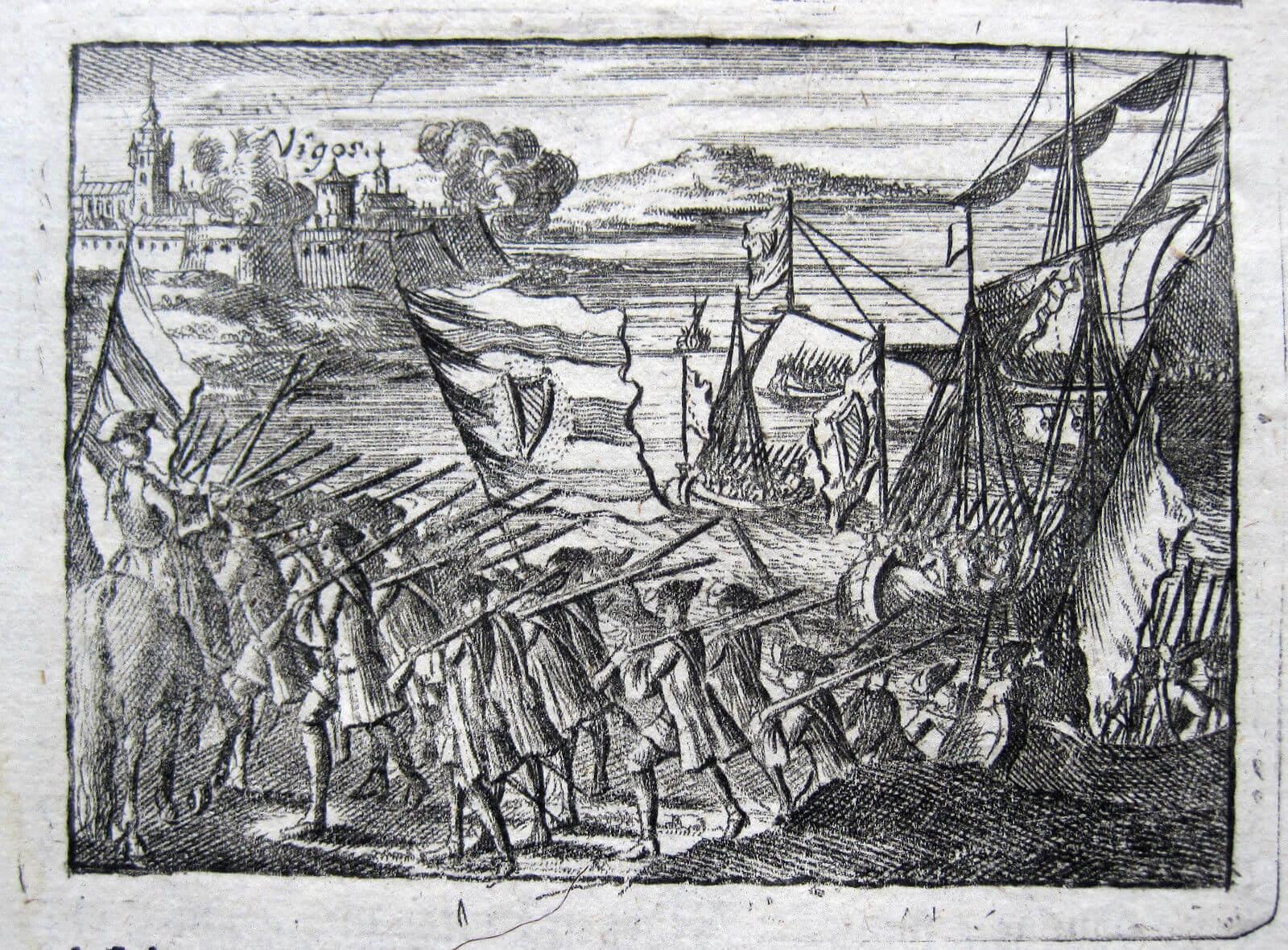 ataque inglés a Vigo 1719