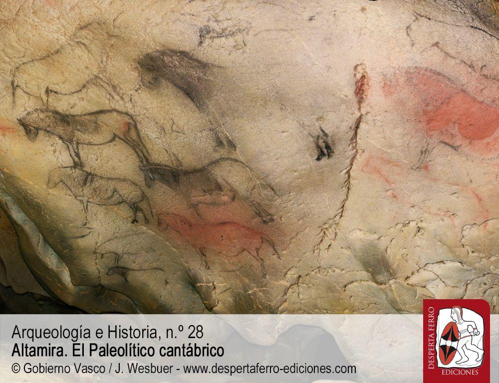 Altamira Entre bisontes y caballos. Las cuevas decoradas de la región cantábrica por Diego Garate (Instituto Internacional de Investigaciones Prehistóricas de Cantabria)