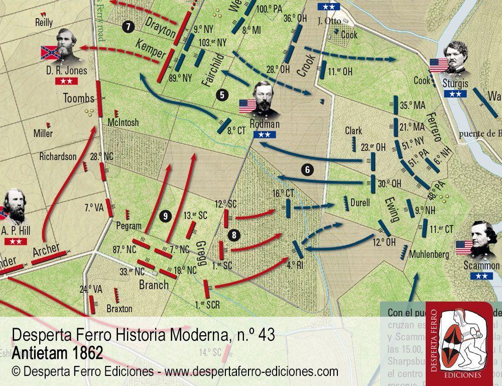 Antietam IX Cuerpo y la lucha por el puente de Burnside por Robert I. Girardi