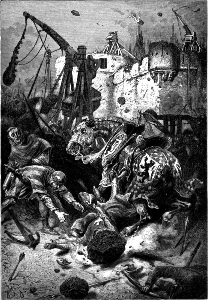 Muerte Simón de Monfort