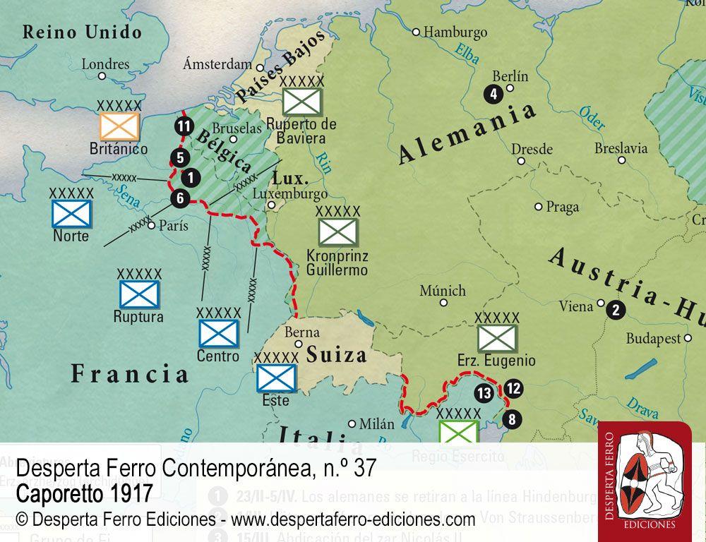 La ofensiva inevitable. El año decisivo del frente italiano por Marco Mondini (Università degli Studi di Padova)