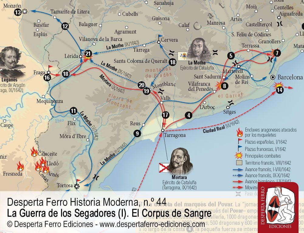 La campaña de 1642. La caída del Rosellón por Raquel Camarero Pascual