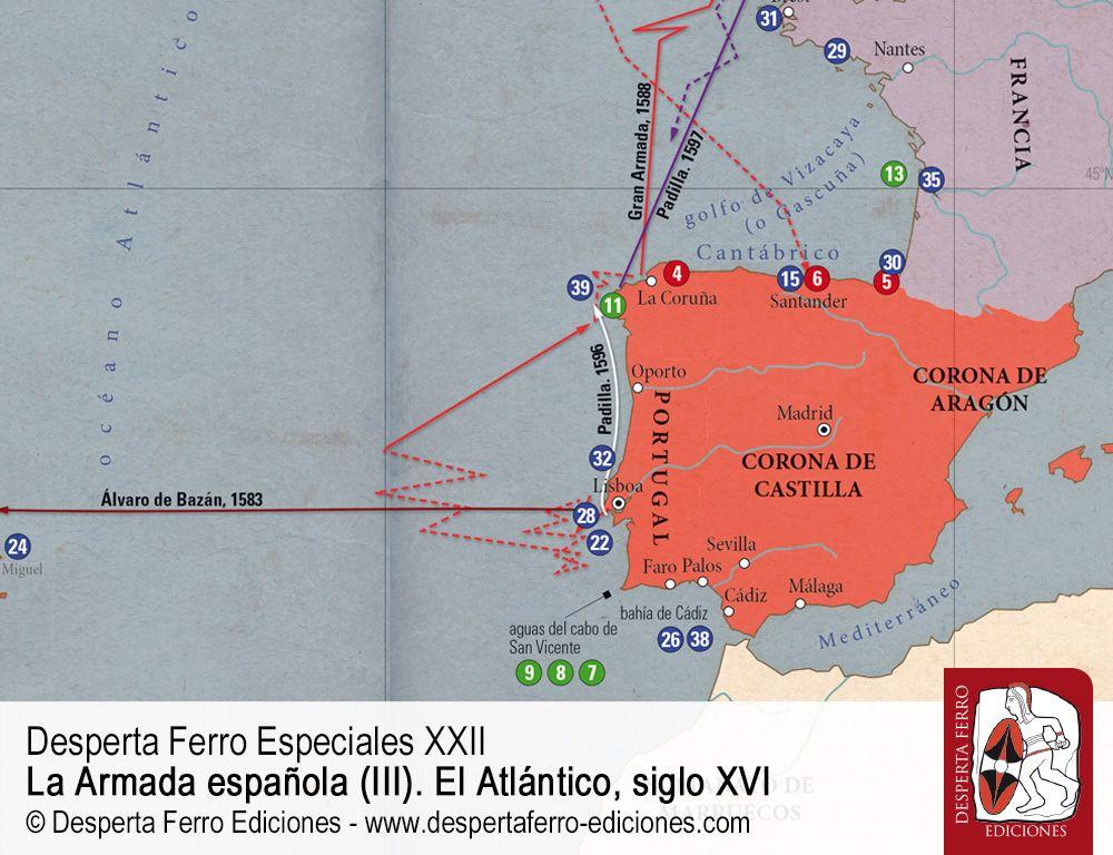 El Atlántico español. Intereses estratégicos y evolución, 1492-1600 por Marta García Garralón – Universidad Nacional de Educación a Distancia