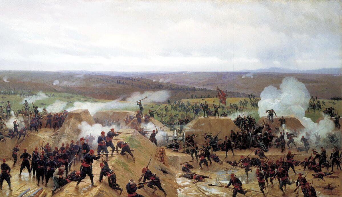 guerra ruso-turca de 1877-1878 Plevna
