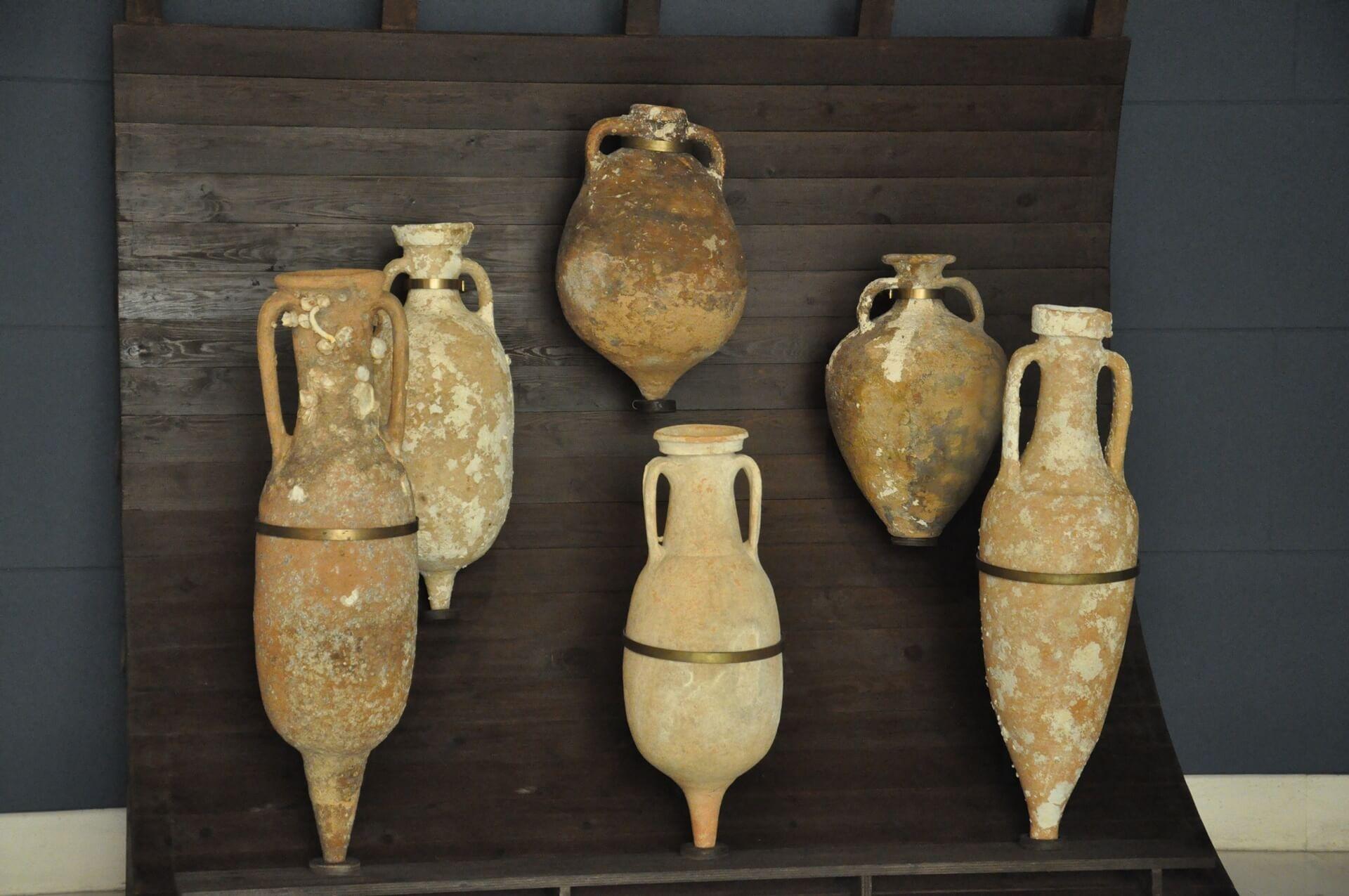El vino en el mundo clásico ánforas romanas cádiz