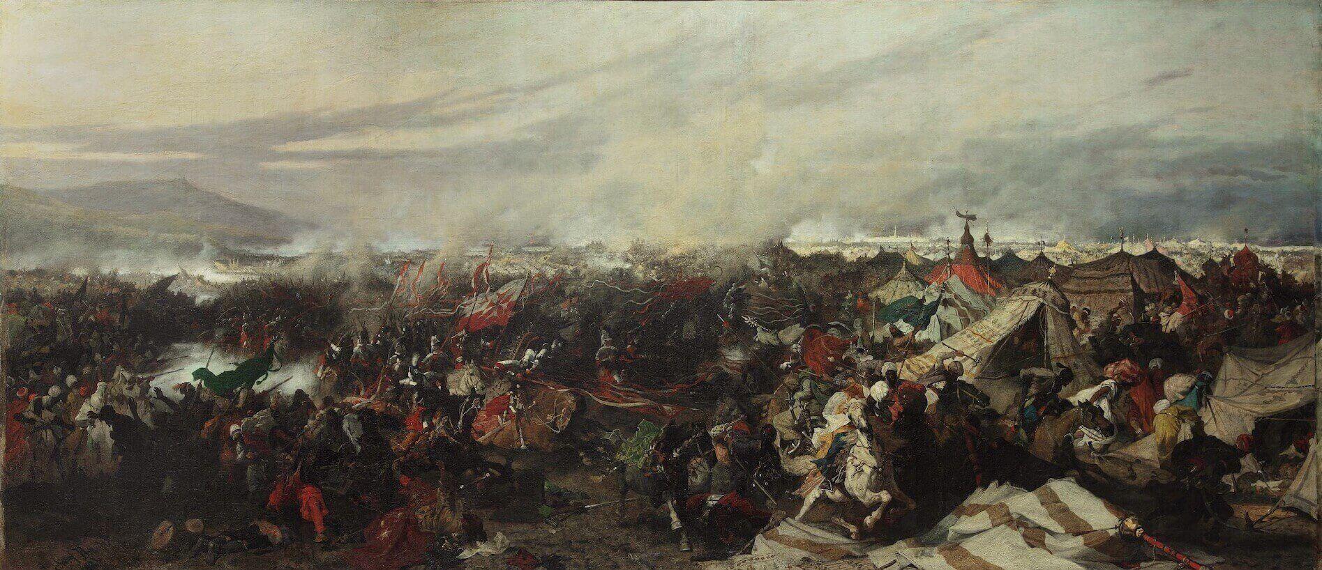 húsares alados polacos Viena batalla Khalenberg
