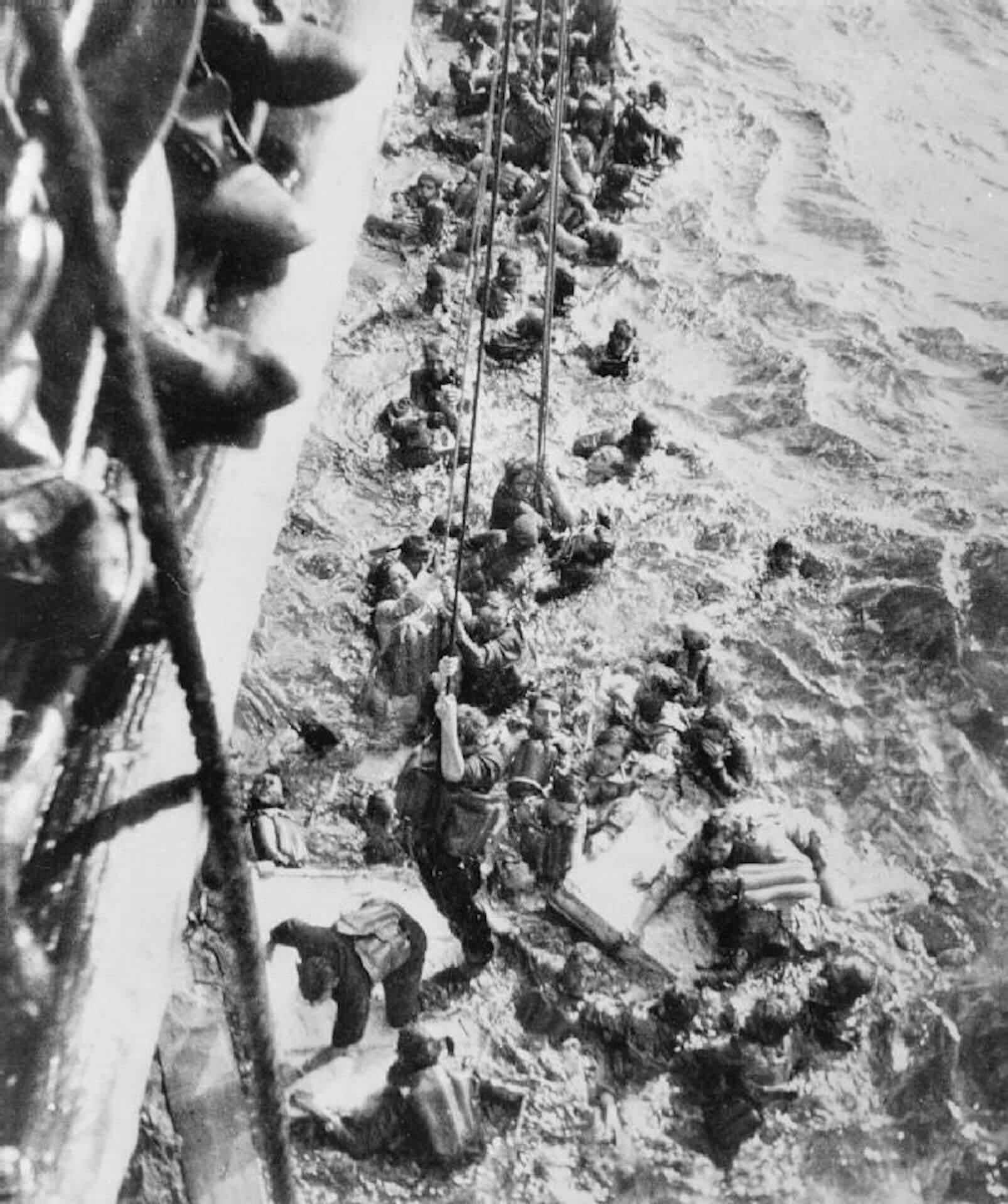 Supervivientes acorazado Bismarck