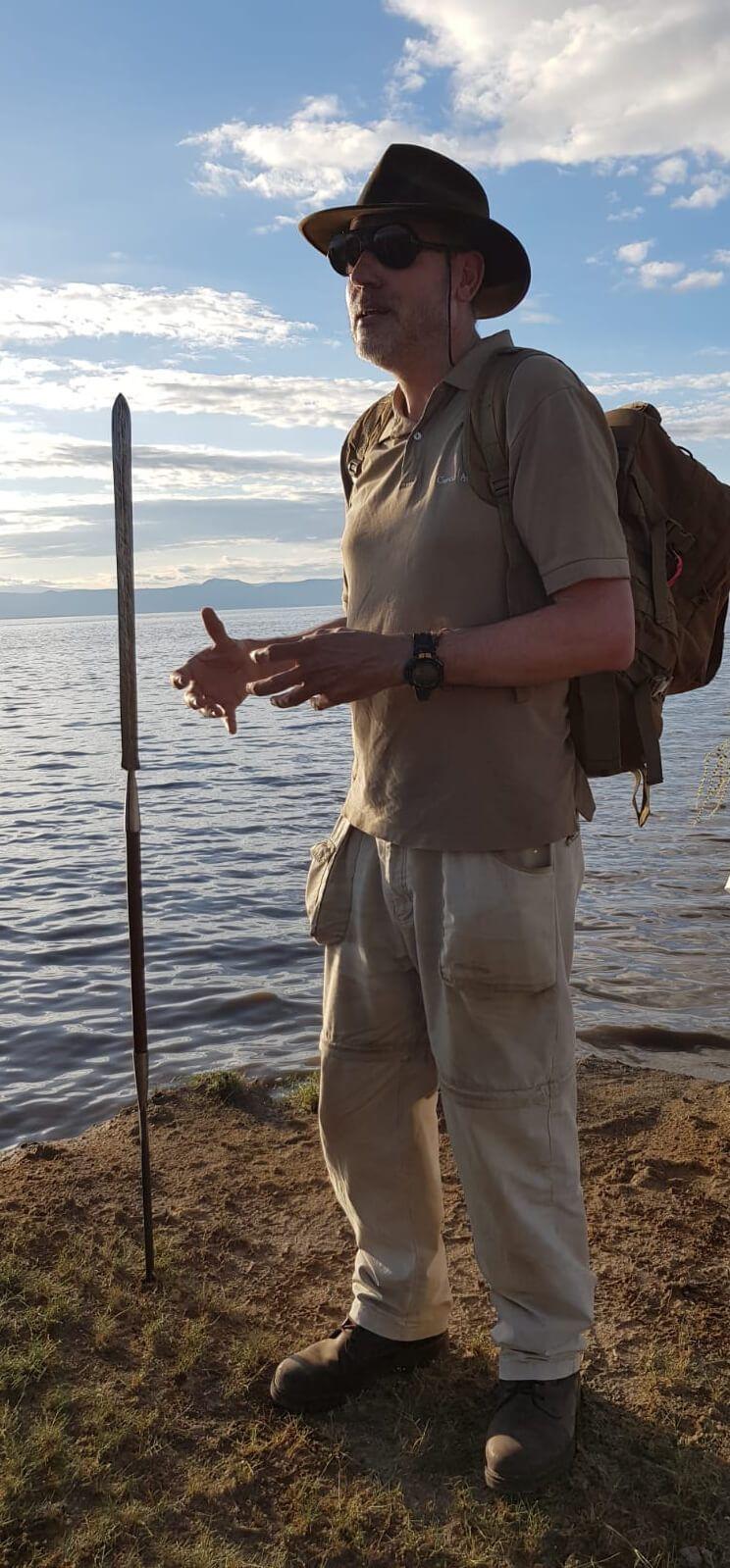 Jordi Serrallonga en la Gran Falla del Rift