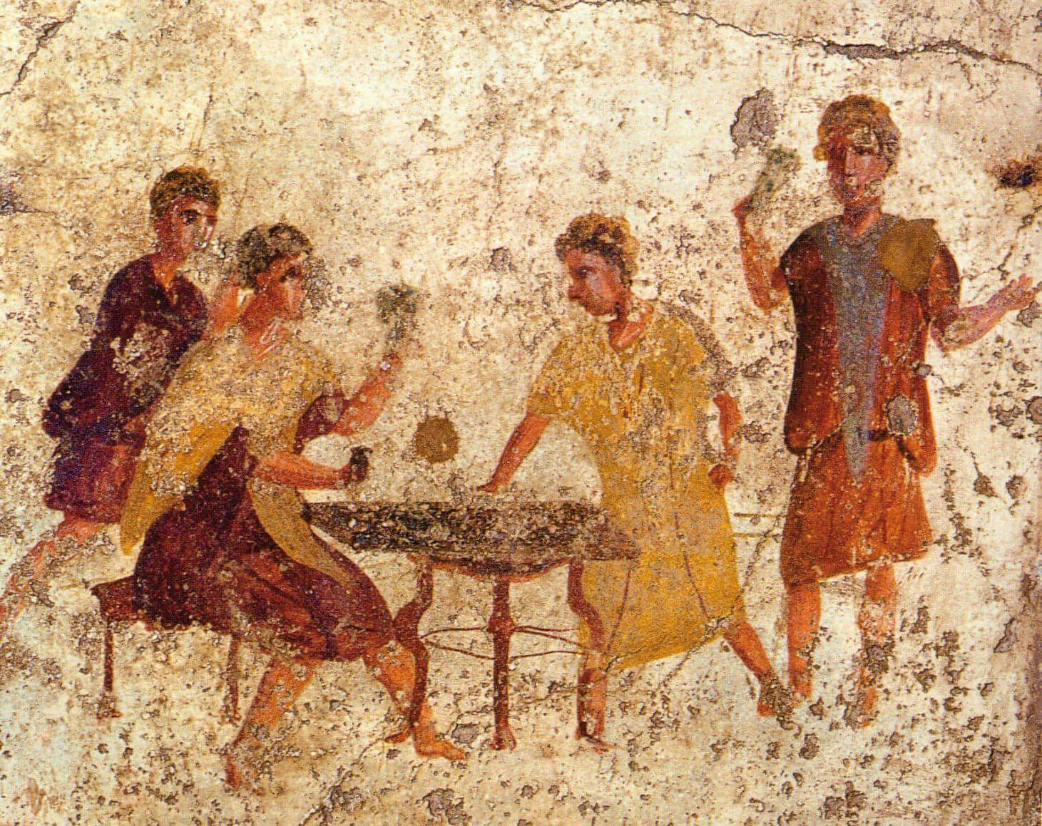 juego y apuestas antigua roma