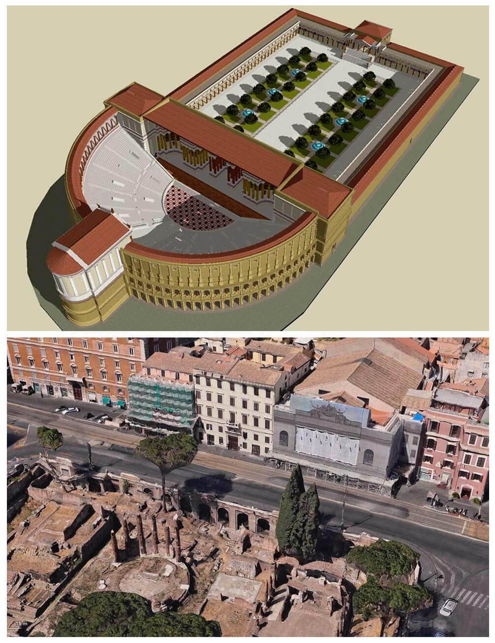 teatro de Pompeyo