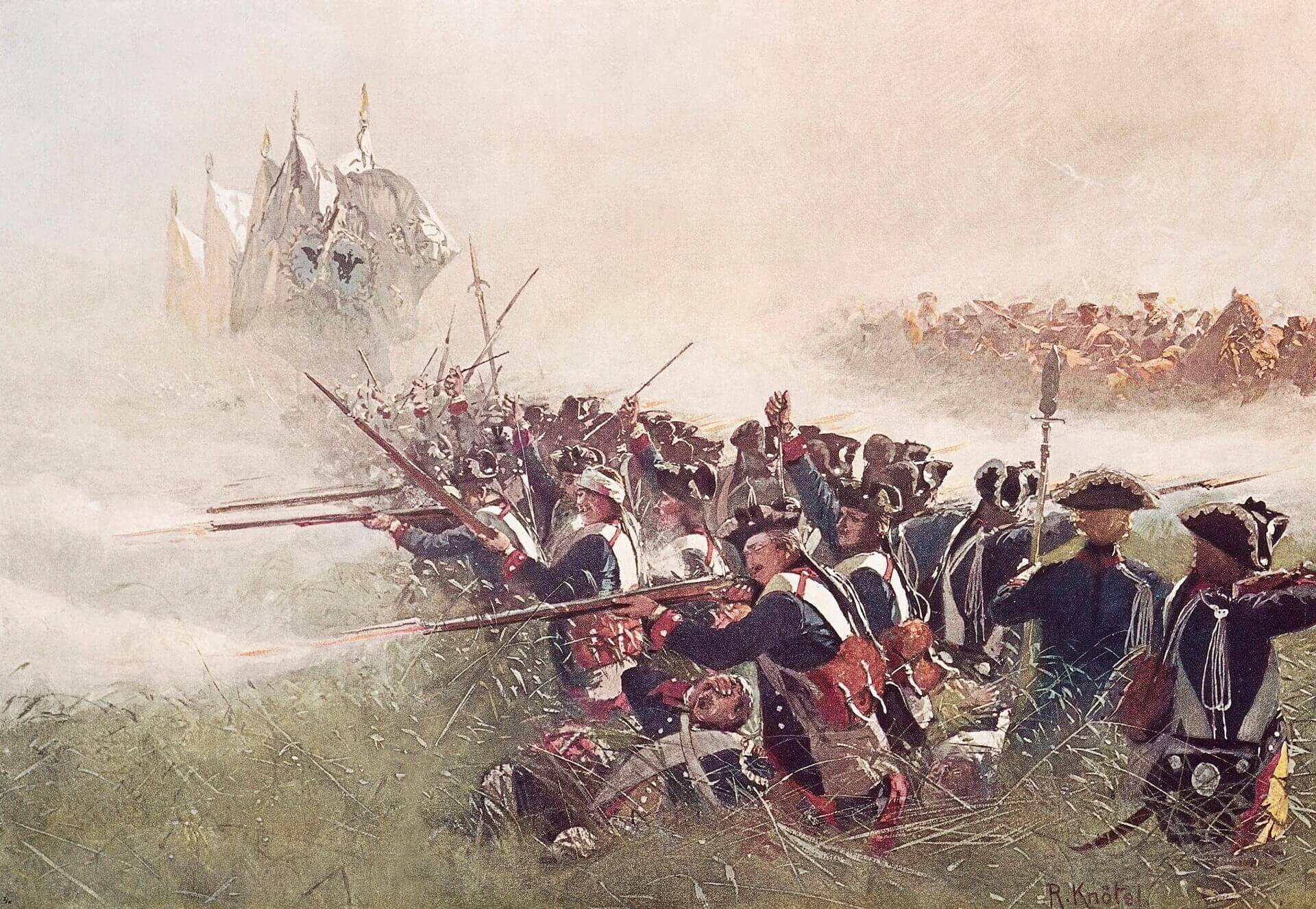 batalla de Kolín campaña de Bohemia Federico de Prusia