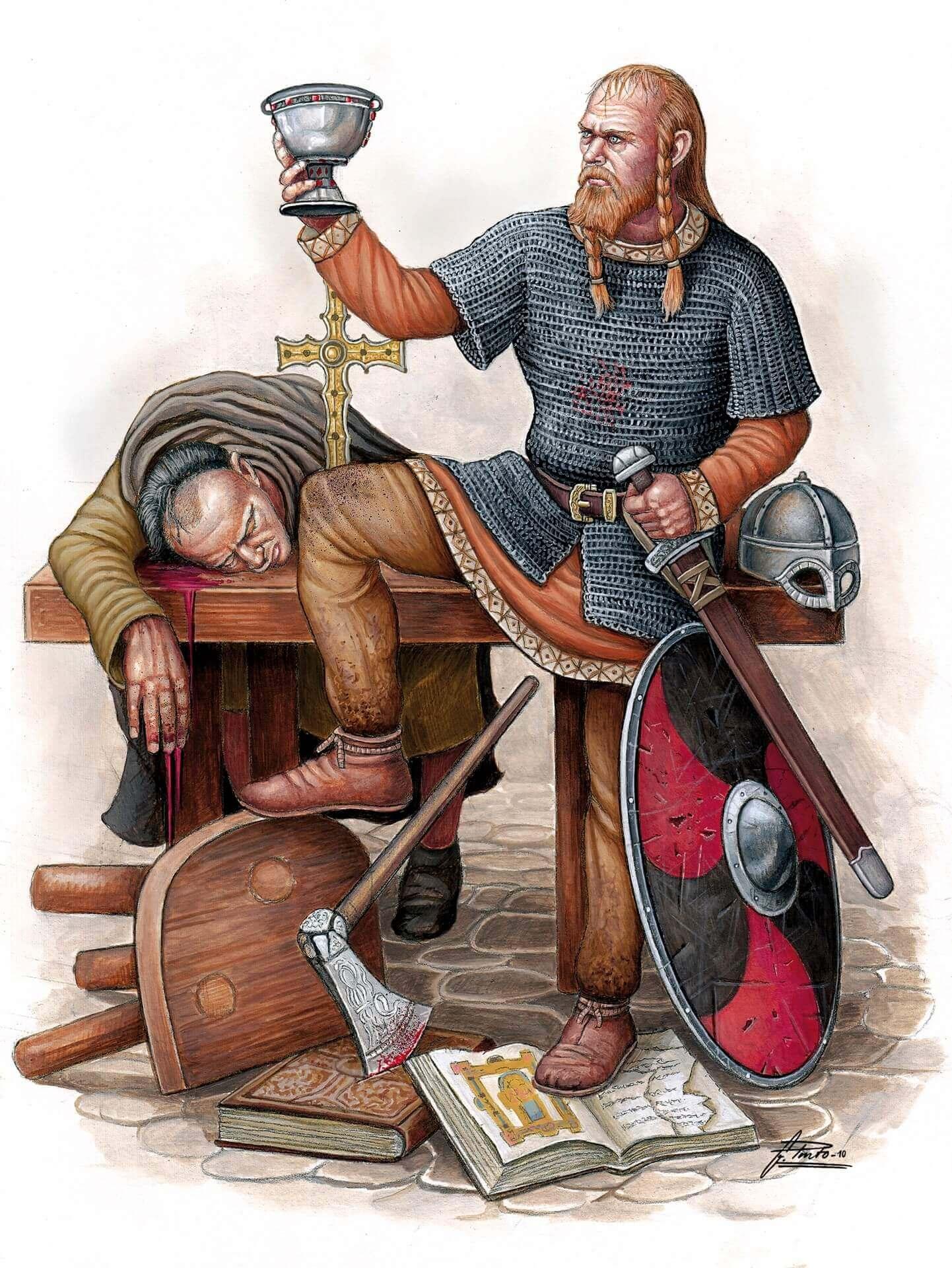vikingos en Irlanda