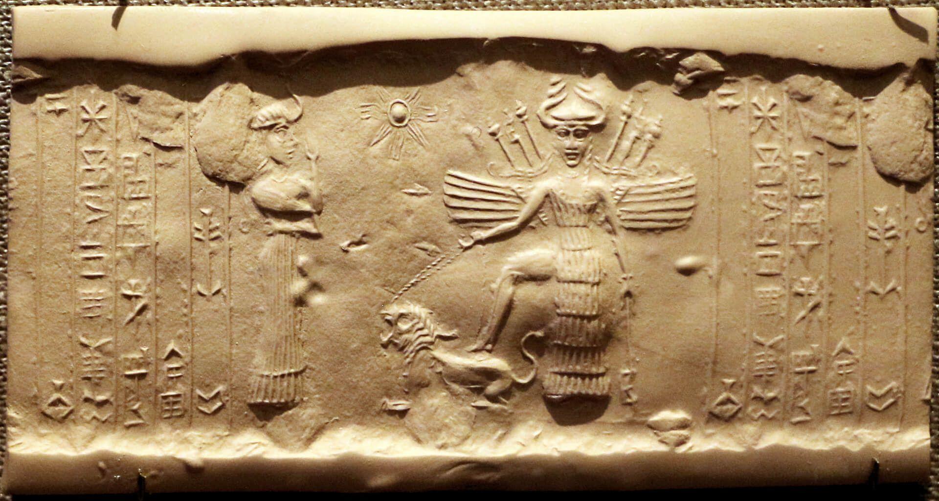 Innanna/Ishtar, diosa del sexo y de la guerra