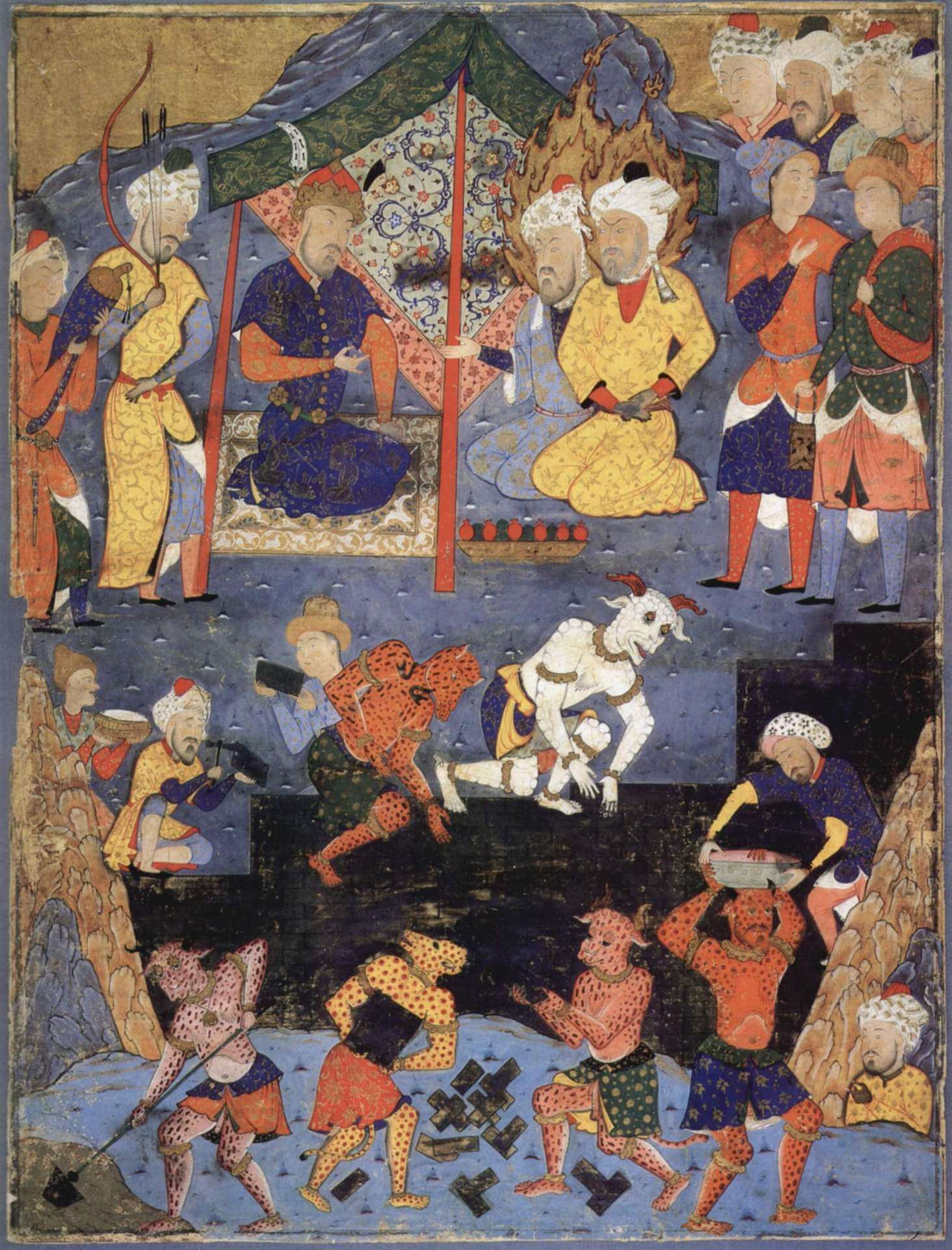 Iskandar Gog y Magog Libro de los augurios