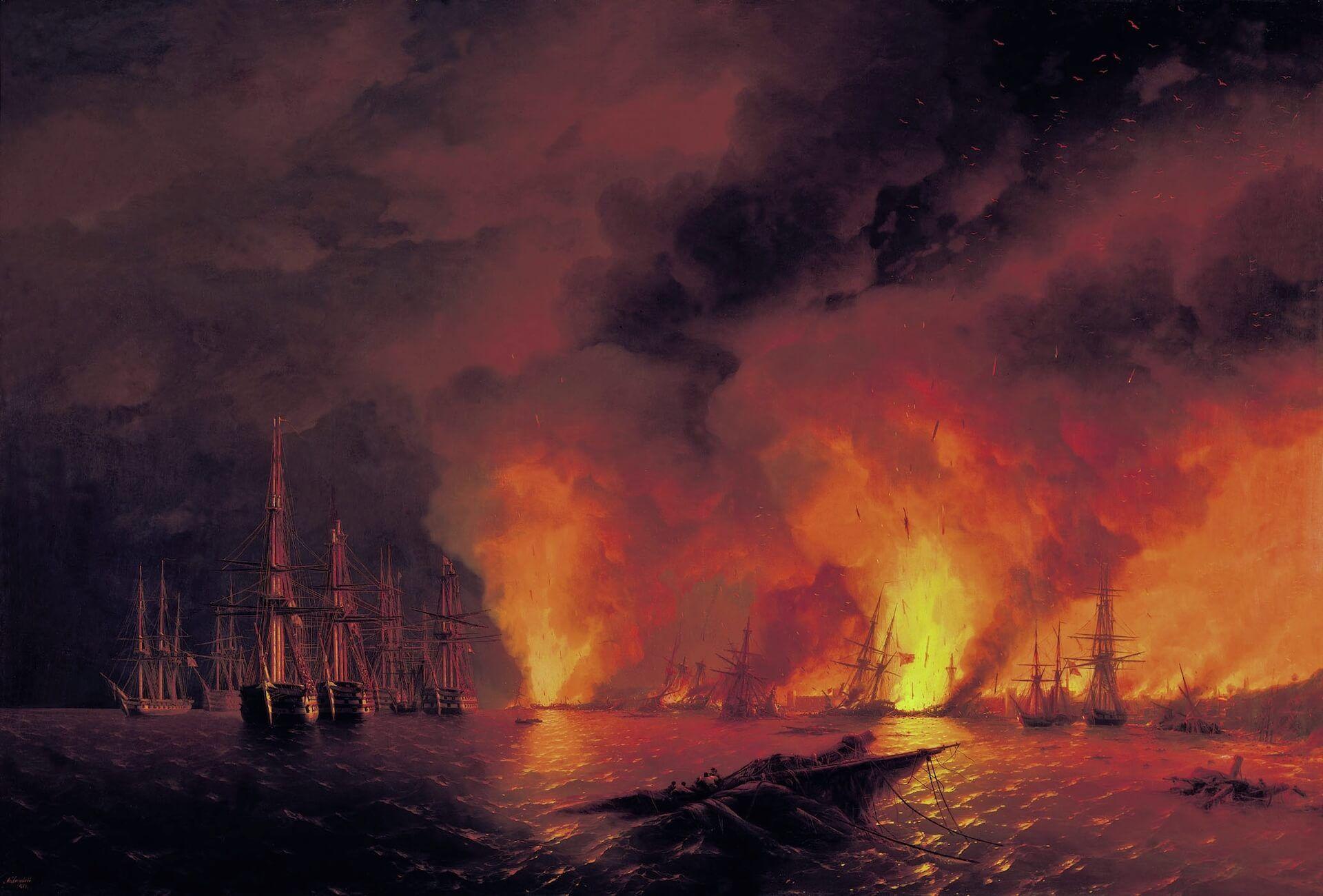 batalla de Sinope