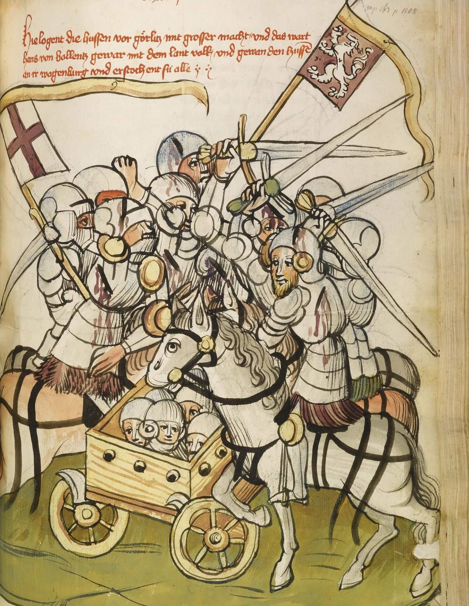 Batalla de Kratzau movimiento husita
