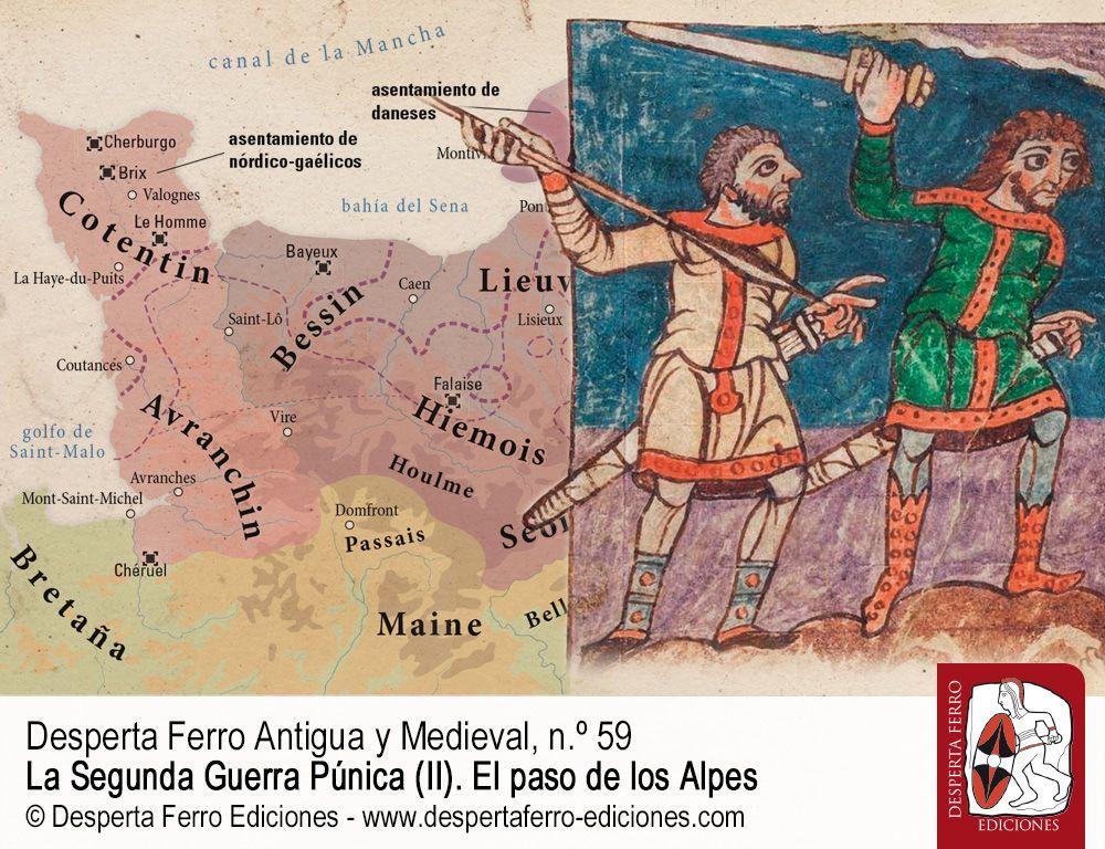 Los hombres del norte. El primer siglo del principado normando por Pierre Bauduin (Université de Caen Normandie, CRAHAM)
