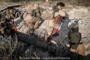 recreación histórica división Trieste en Bir Hakeim