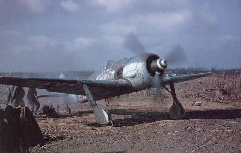 Focke-Wulf Fw 190A-8 Operación Bodenplatte