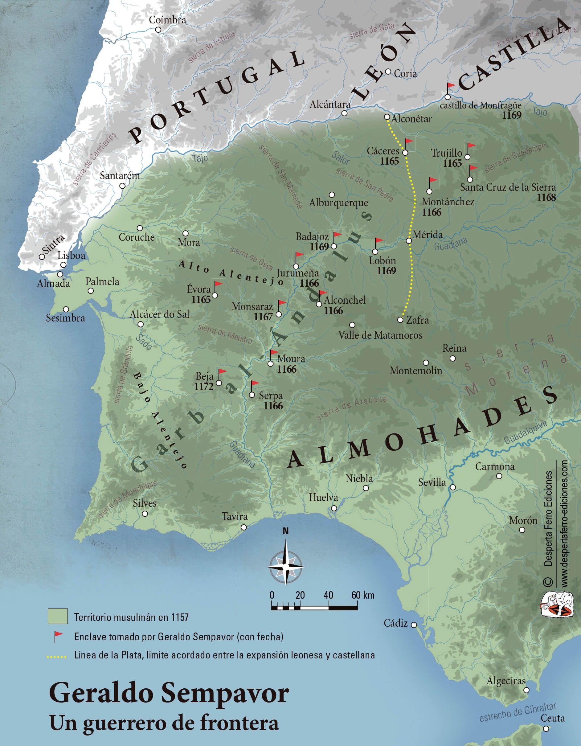 Mapa Geraldo Sempavor