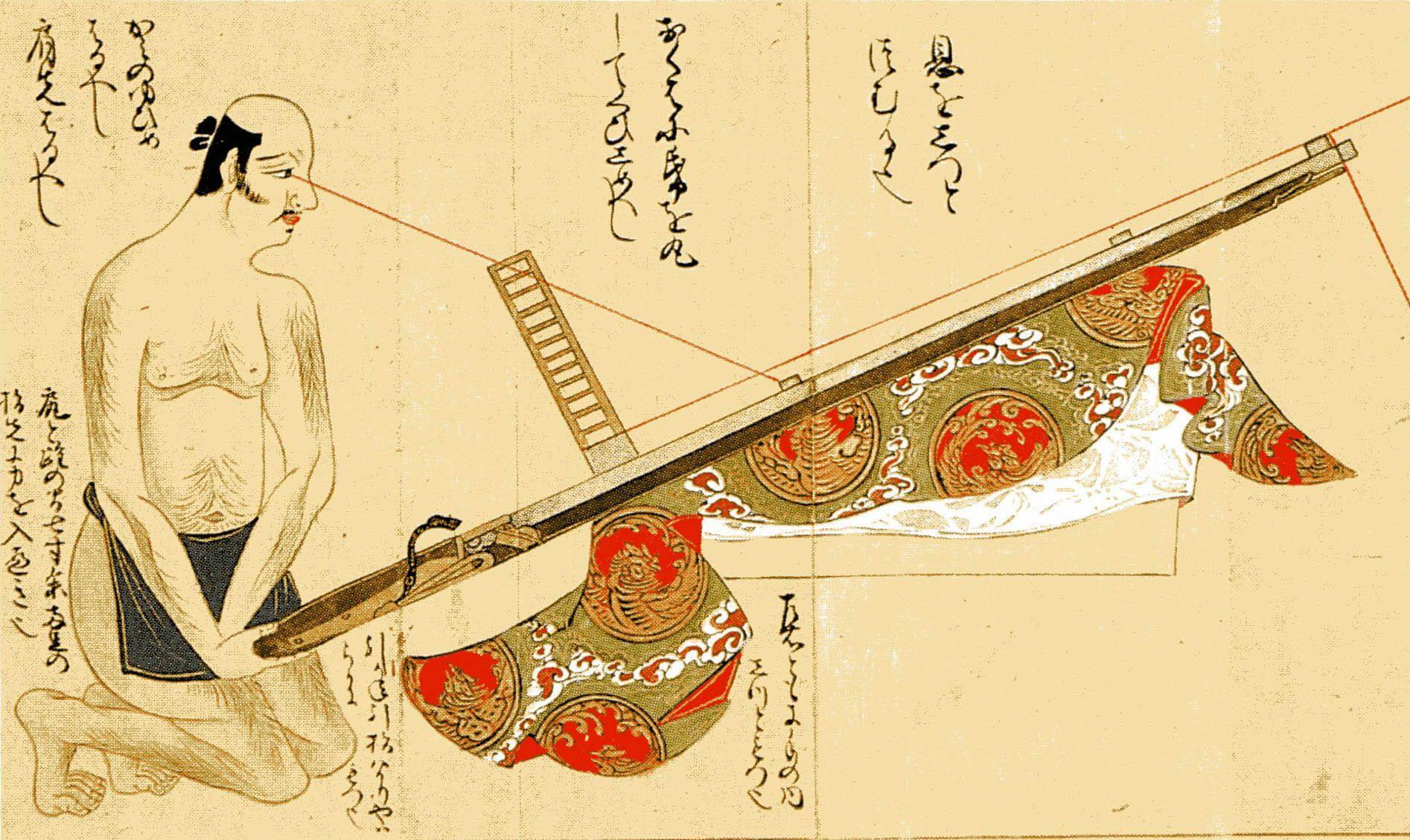 Escuela de Tiro Inatomi teppô Japón
