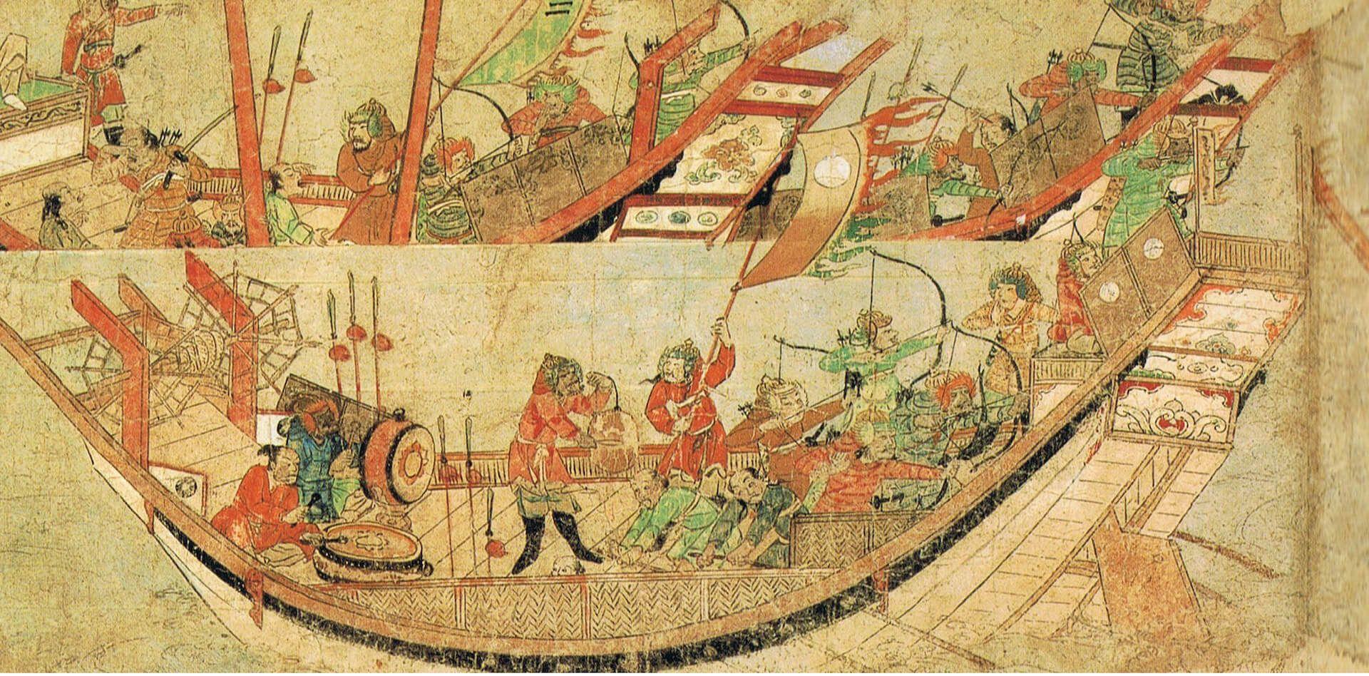 invasiones mongilas Japón kamikaze