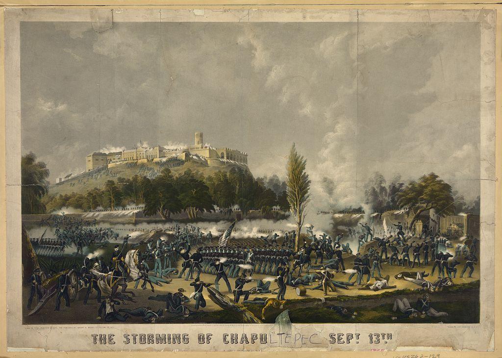 El asalto de Chapultepec Guerra México Estados Unidos