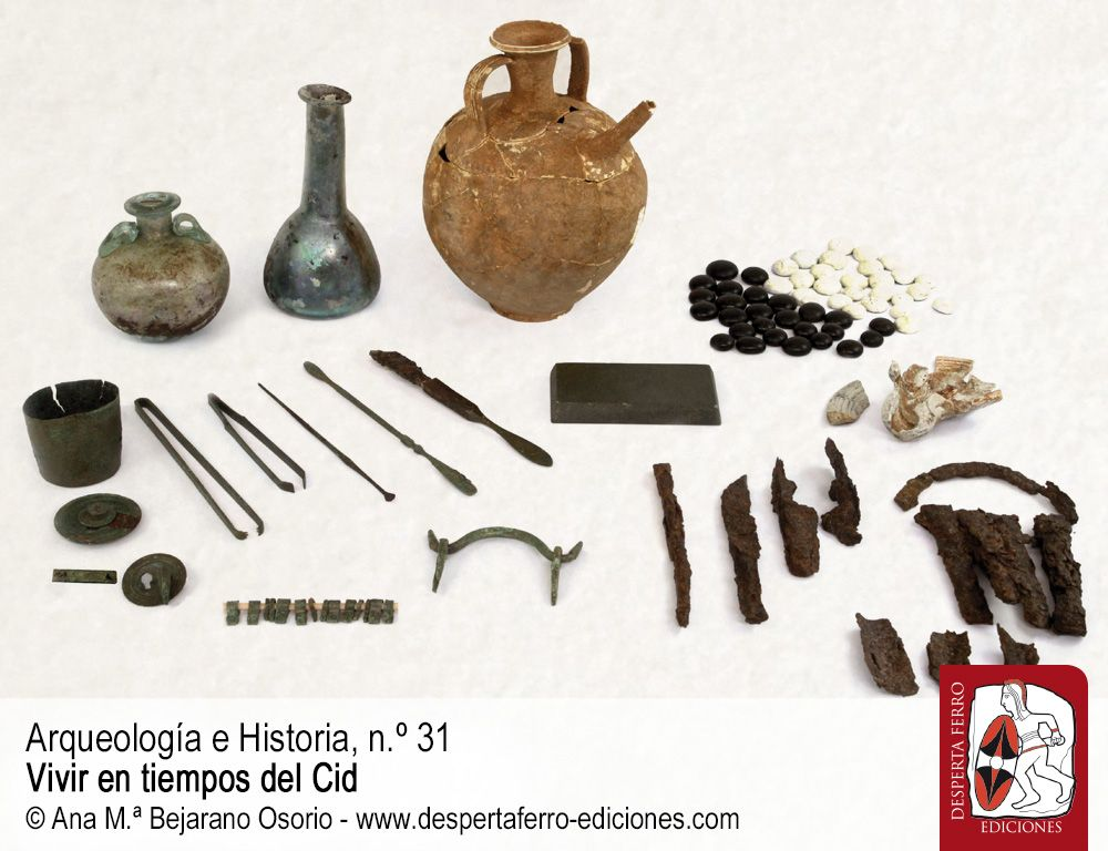 Y además, introduciendo el n. º 32, La medicina en Augusta Emerita por Ana M.ª Bejarano (Consorcio Ciudad Monumental de Mérida)