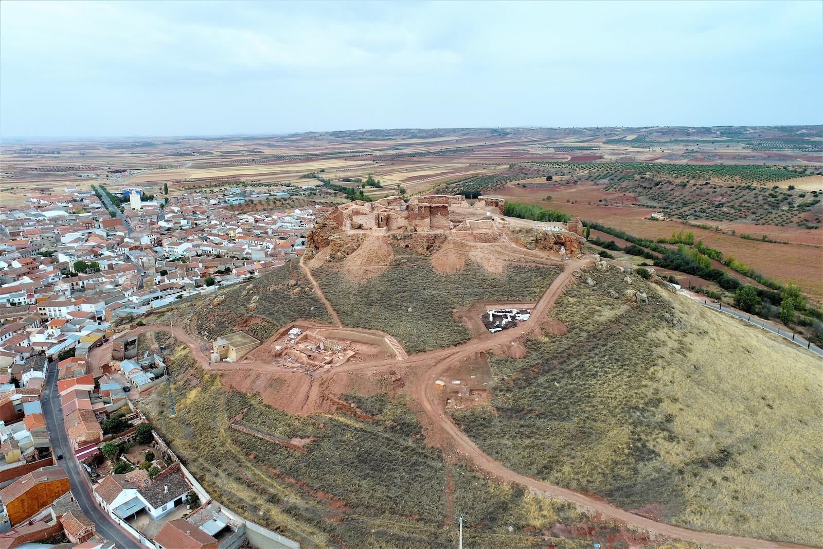 Castillo de La Estrella de Montiel Pedro el cruel Enrique de Trastámara