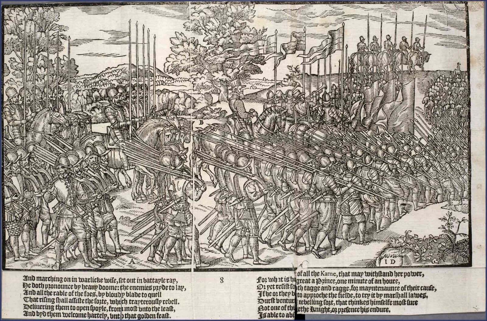 ejército inglés 1580