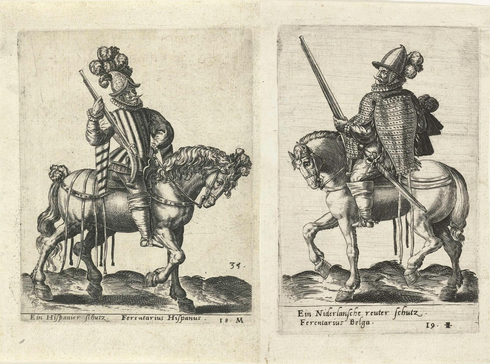 Caballería siglo XVI herreruelo reiter