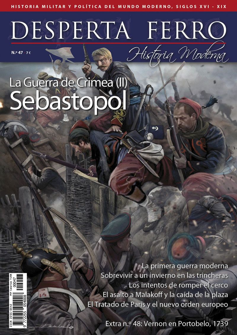 Desperta Ferro Moderna n.º 47: La Guerra de Crimea (II). Sebastopol