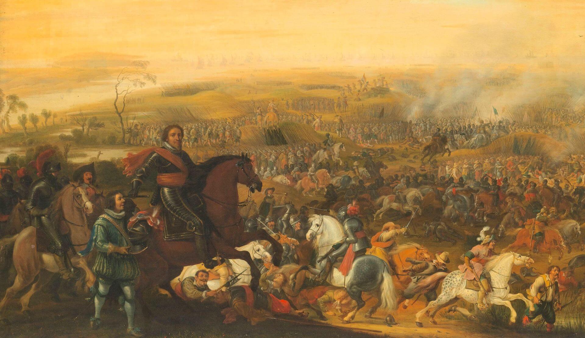 tácticas de infantería siglo XVI Mauricio de Nassau