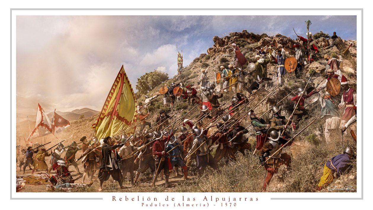 Rebelión de las Alpujarras. Lámina de Jordi Bru