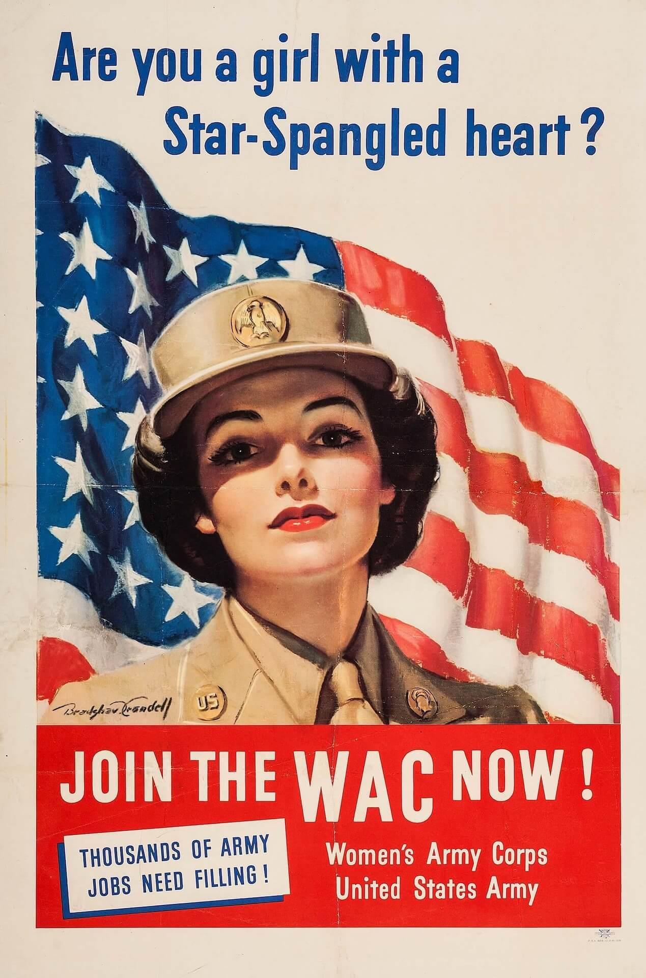 Women´s Army Corps mujer ejército de estados unidos