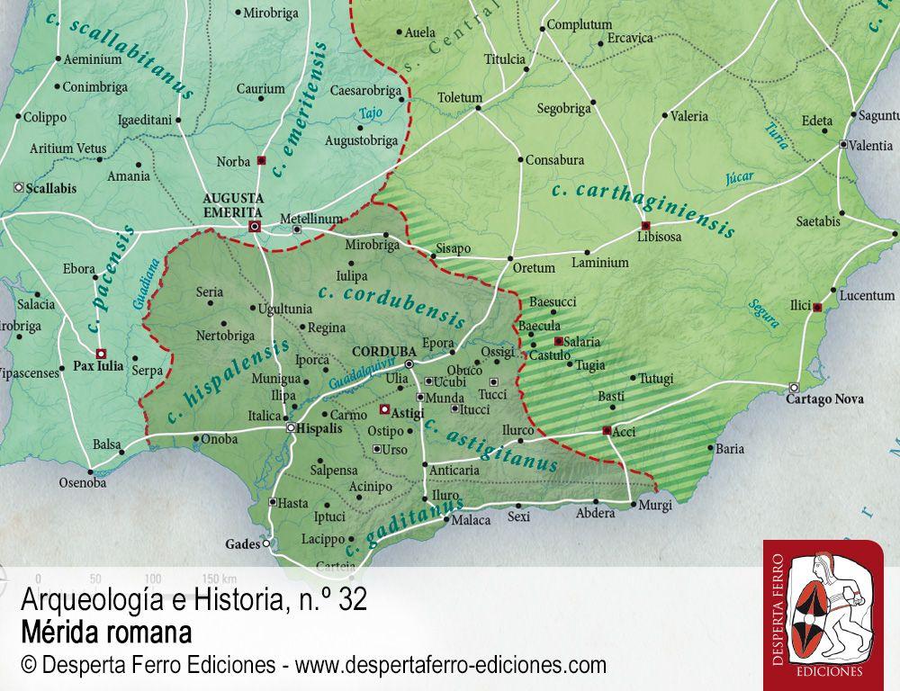 Augusta Emerita. La fundación de una colonia romana por José Carlos Saquete (Universidad de Sevilla)