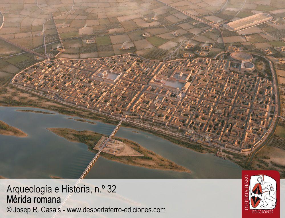 Entre las calles de la colonia. La evolución urbana por Pedro Mateos (Instituto de Arqueología de Mérida - CSIC)