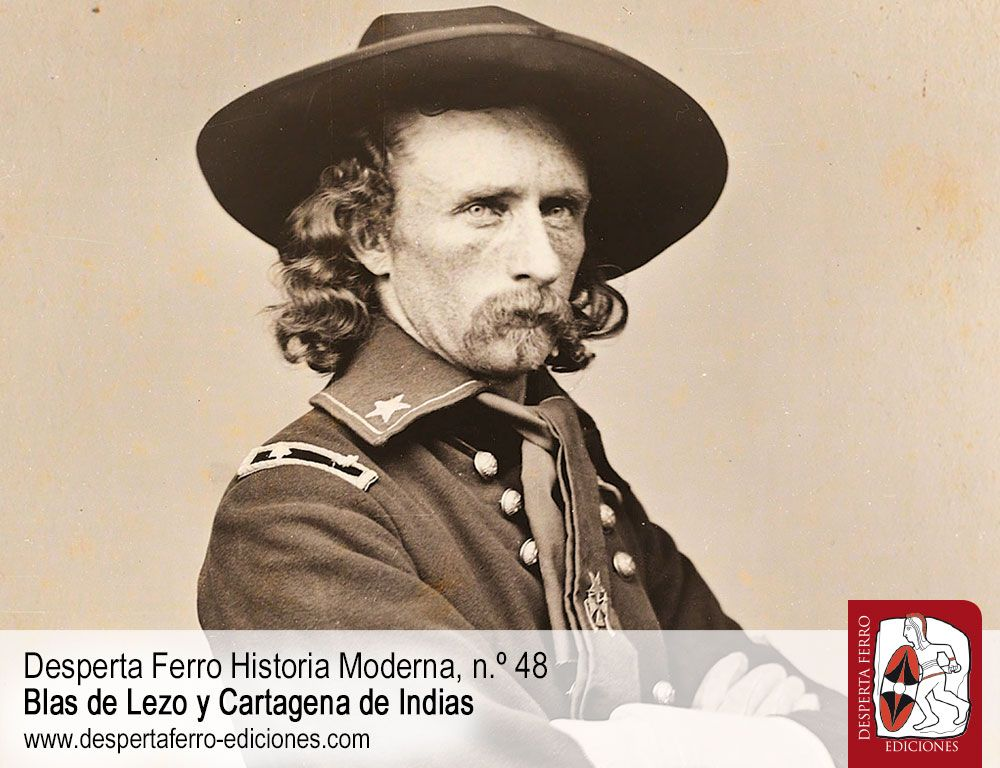 Y, además, introduciendo el n.º 49, George Armstrong Custer, una figura controvertida por T. J. Stiles