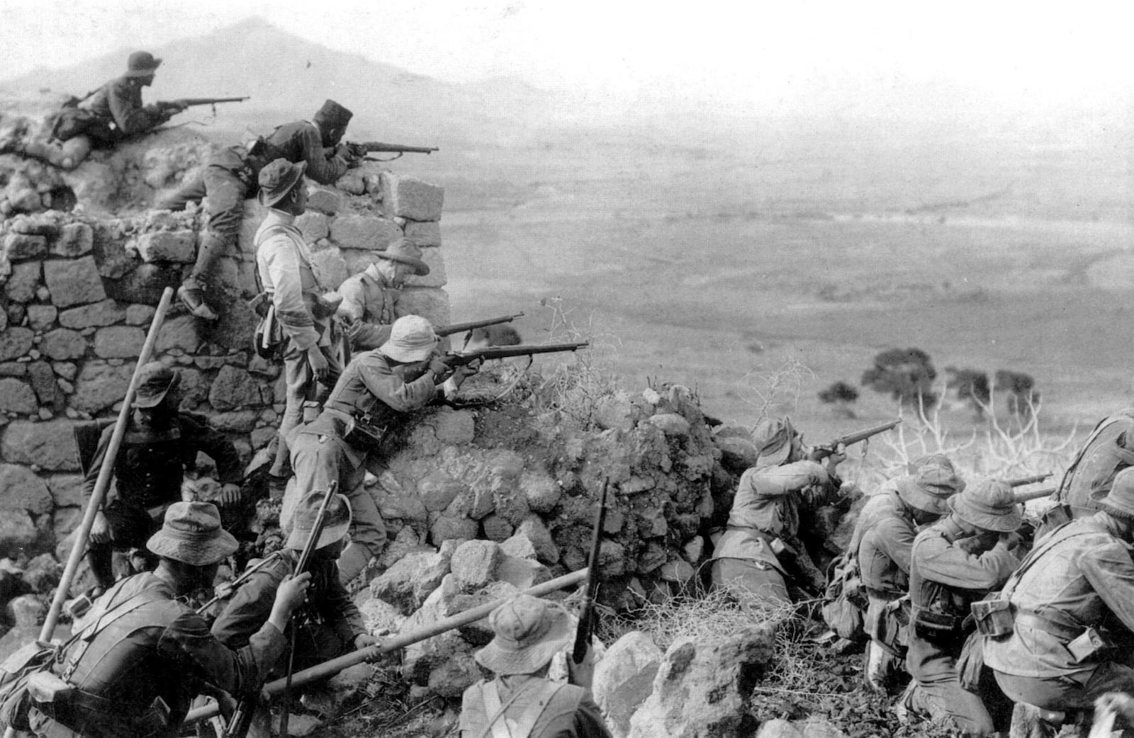 Guerra del Rif desfiladero de Hámara capitán Arredondo