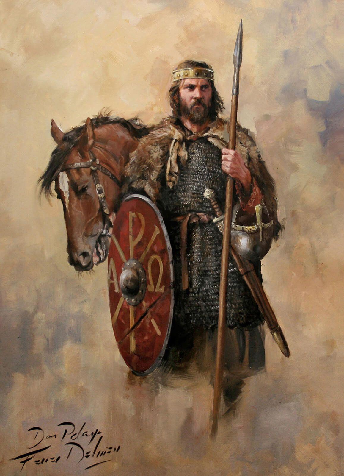 origen de don Pelayo batalla de Covadonga