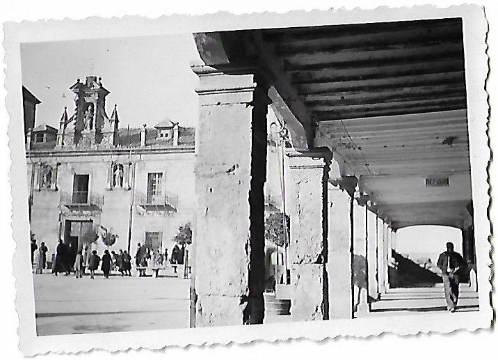Plaza Mayor El Burgo de Osma, 1938