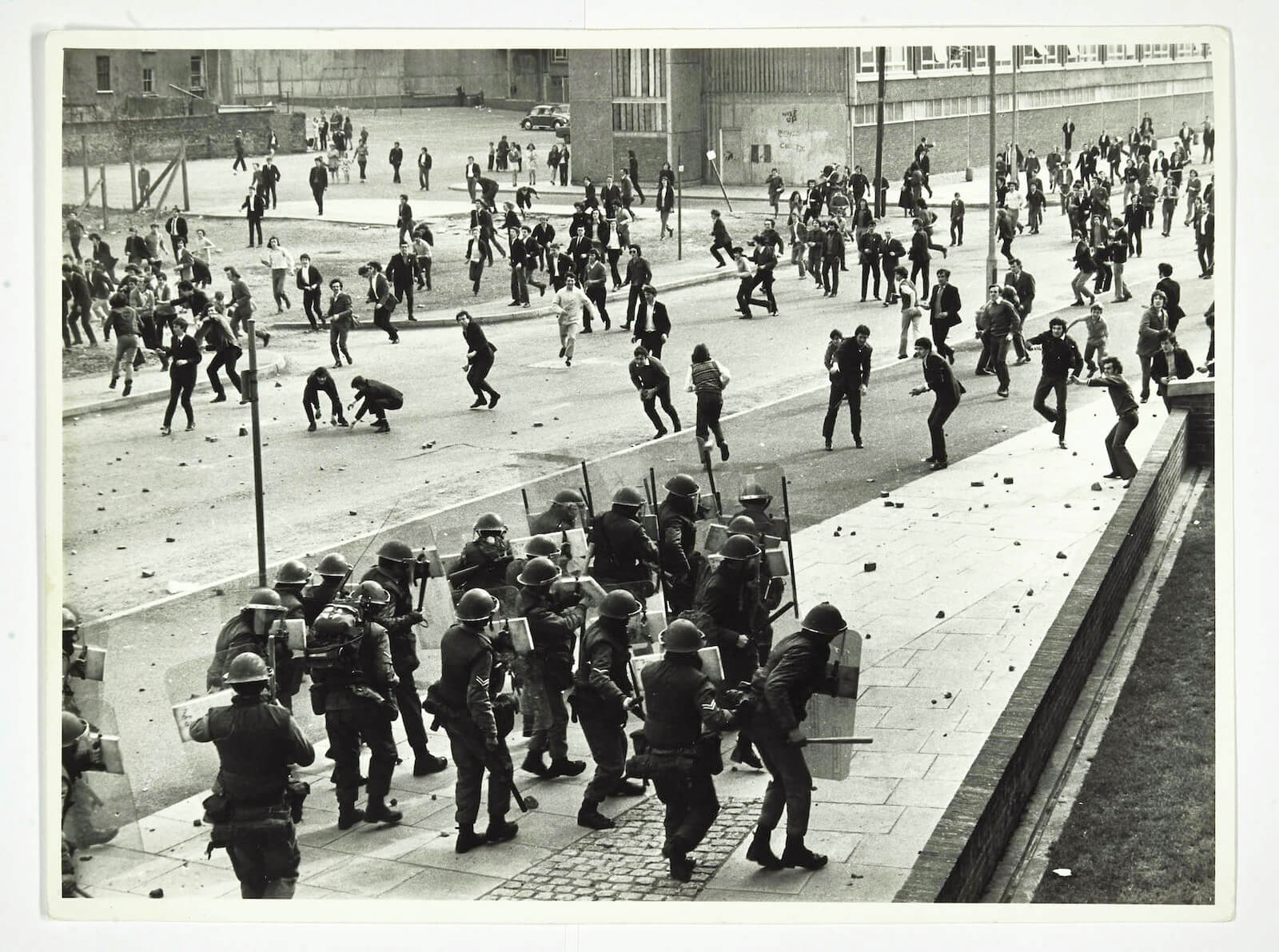 Bloody Sunday, The Abercorn y Donegall Street