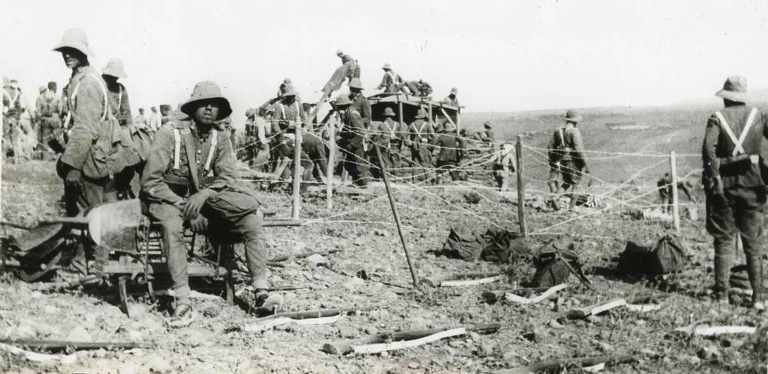soldado español en la Guerra del Rif
