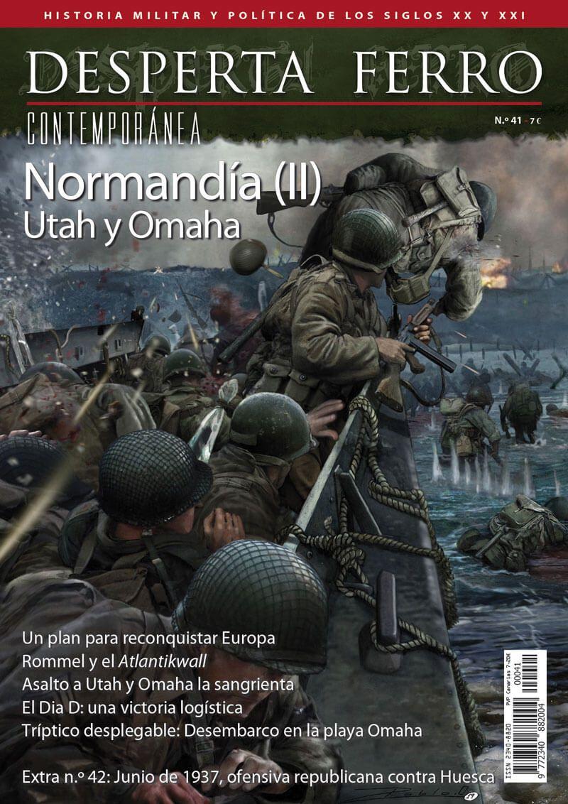 Desperta Ferro Contemporánea n.º 41: Normandía (II) Utah y Omaha