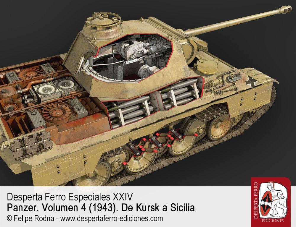 Panzerkampfwagen V Panther por Alaric Searle (University of Salford)