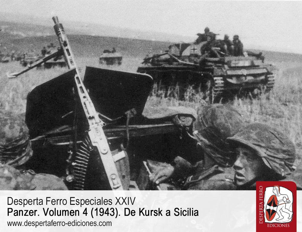 Los Panzergrenadiere por Nigel Thomas