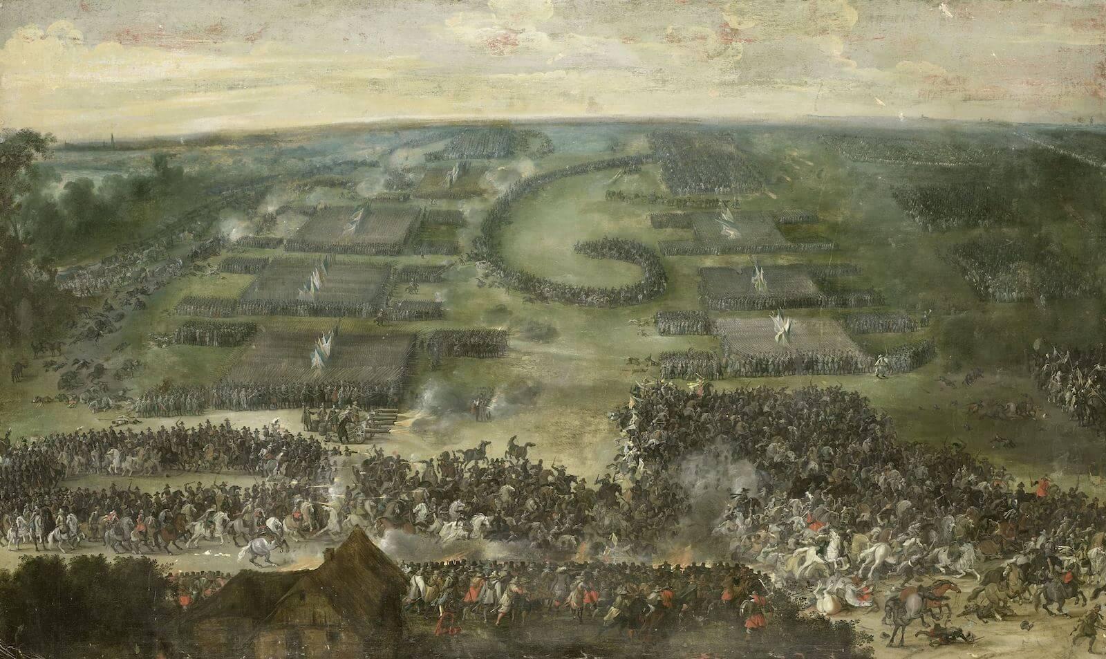 batalla de Fleurus Pieter Snayers